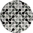 rug #1025318   round black circles rug