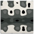 rug #1025346 | square black abstract rug