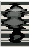 rug #1025354 |  black abstract rug