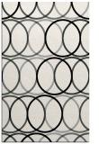rug #1025414    black circles rug