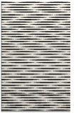 rug #1025774 |  black stripes rug