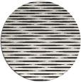 rug #1025778 | round black popular rug