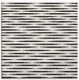 rug #1025786 | square black stripes rug