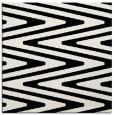 rug #1026026 | square black rug