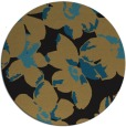 rug #102621 | round mid-brown popular rug