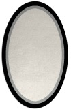 rug #1026390 | oval plain black rug