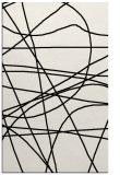 rug #1026434    black stripes rug