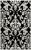 rug #1026654 |  black traditional rug