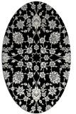 rug #1026673 | oval damask rug
