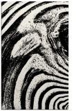 rug #1026714 |  black stripes rug