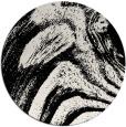 rug #1026718 | round black natural rug