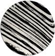 rug #1027018 | round black natural rug