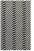rug #1027194 |  black stripes rug