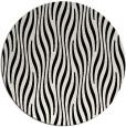 rug #1027218   round black stripes rug