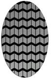 rug #1027232 | oval gradient rug