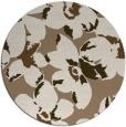 rug #102753 | round beige natural rug
