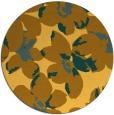rug #102905 | round light-orange natural rug