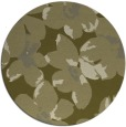 rug #102933 | round light-green natural rug