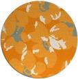 rug #102945 | round light-orange natural rug