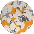 rug #102949 | round white rug