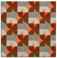 rug #103501 | square orange popular rug