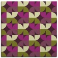 rug #103533 | square purple natural rug
