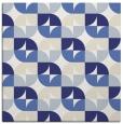 rug #103585 | square blue natural rug