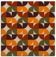 rug #103621 | square orange rug