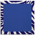 rug #1036790 | square plain blue-violet rug