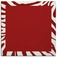 rug #1036946 | square red stripes rug