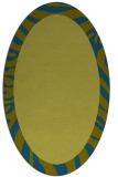 rug #1037132   oval plain rug
