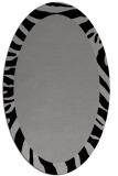 rug #1037228 | oval plain rug