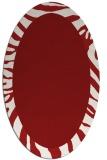 rug #1037312 | oval borders rug