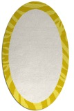 rug #1037342 | oval plain white rug