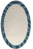 rug #1037358 | oval plain white rug
