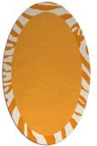 rug #1037413 | oval plain rug