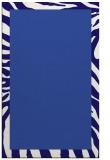 rug #1037518    plain blue-violet rug