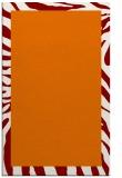 rug #1037622 |  orange stripes rug
