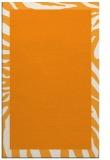 rug #1037774 |  light-orange animal rug
