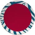 rug #1037898 | round red animal rug