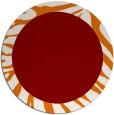 rug #1037988 | round plain rug
