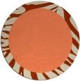 rug #1037990 | round beige borders rug