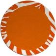 rug #1038061 | round plain rug