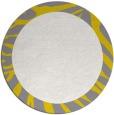 rug #1038105 | round plain rug