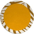 rug #1038130 | round light-orange animal rug