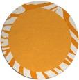 rug #1038141 | round plain rug