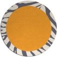 rug #1038142 | round plain white rug