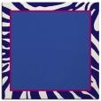 rug #1038614 | square blue-violet borders rug