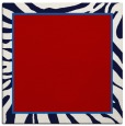 rug #1038762 | square red stripes rug