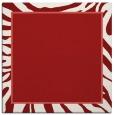 rug #1038770 | square red animal rug